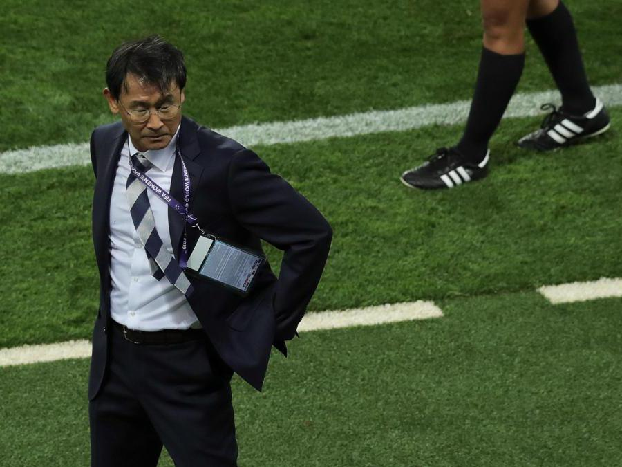 L'allenatore Yoon Dukyeo (Epa)