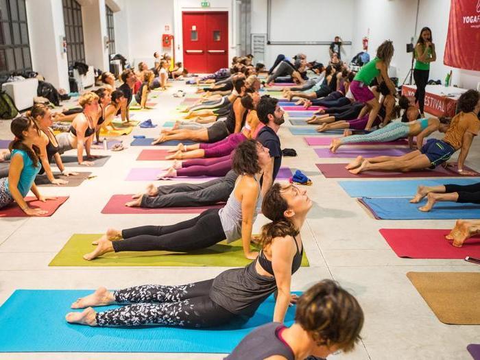 Festival dello yoga a Milano