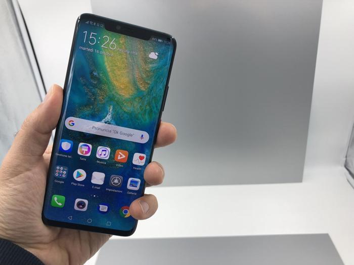 Le immagini del Huawei Mate 20
