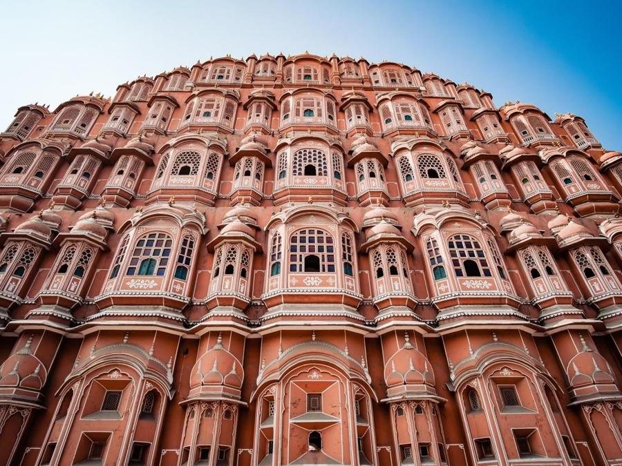 India, Jaipur, Hawa Mahal