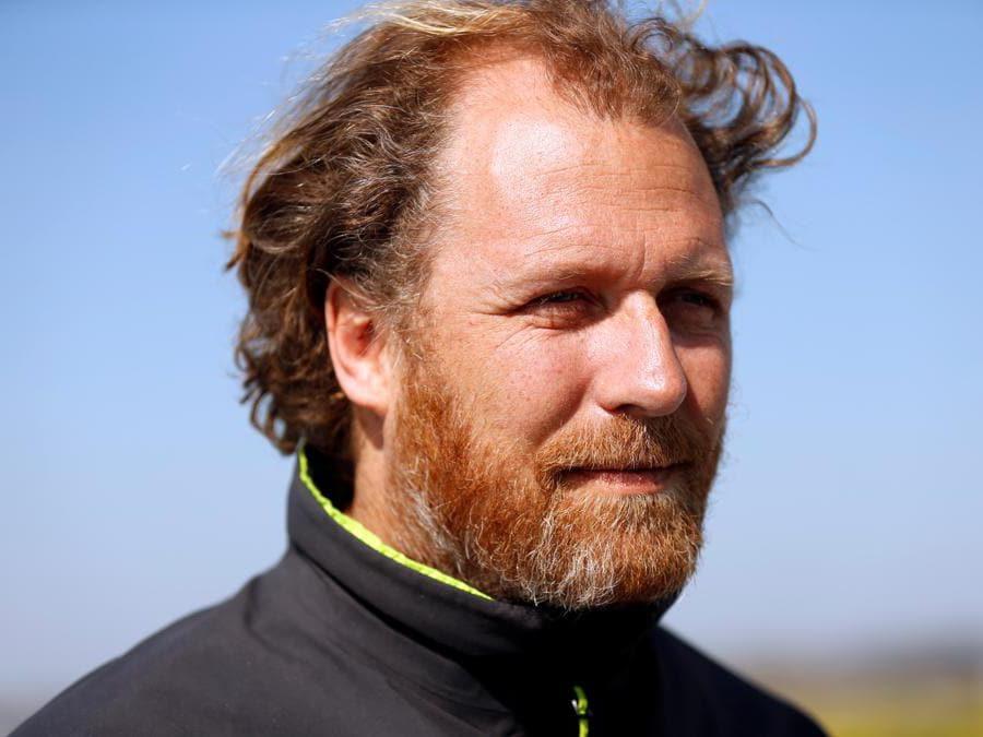 Il capo della spedizione Jerome Delafosse (Reuters/Eva Plevier)