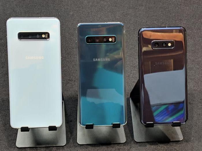 Samsung, ecco i nuovi Galaxy S10