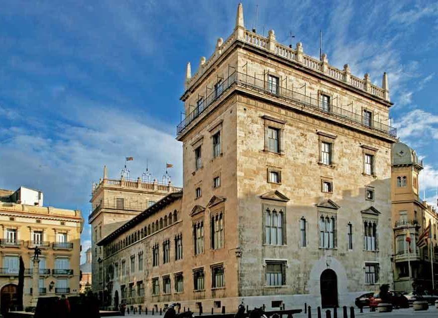 Il Palazzo delle Comune di Valencia (PH Visit Valencia)