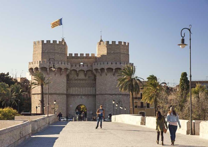 Valencia è una bela città dove la tradizione convive con la modernità (PH Visit Valencia)