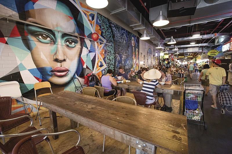 Uno dei locali del Adelaide Central Market, mercato coperto di Adelaide (Credit:Tourism Australia /ph Greg Snell)
