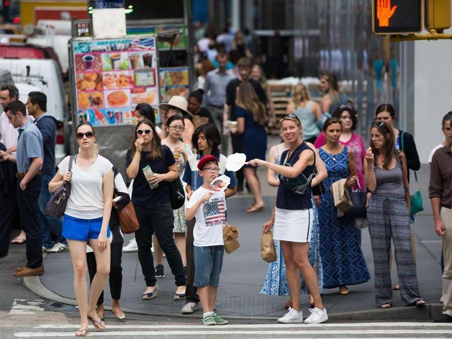 Incrocio a Manhattan (Kevin Hagen/Getty Images/AFP)