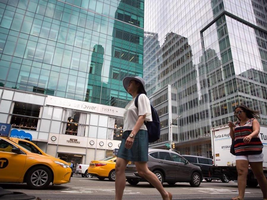 6th Avenue a Manhattan (Kevin Hagen/Getty Images/AFP)