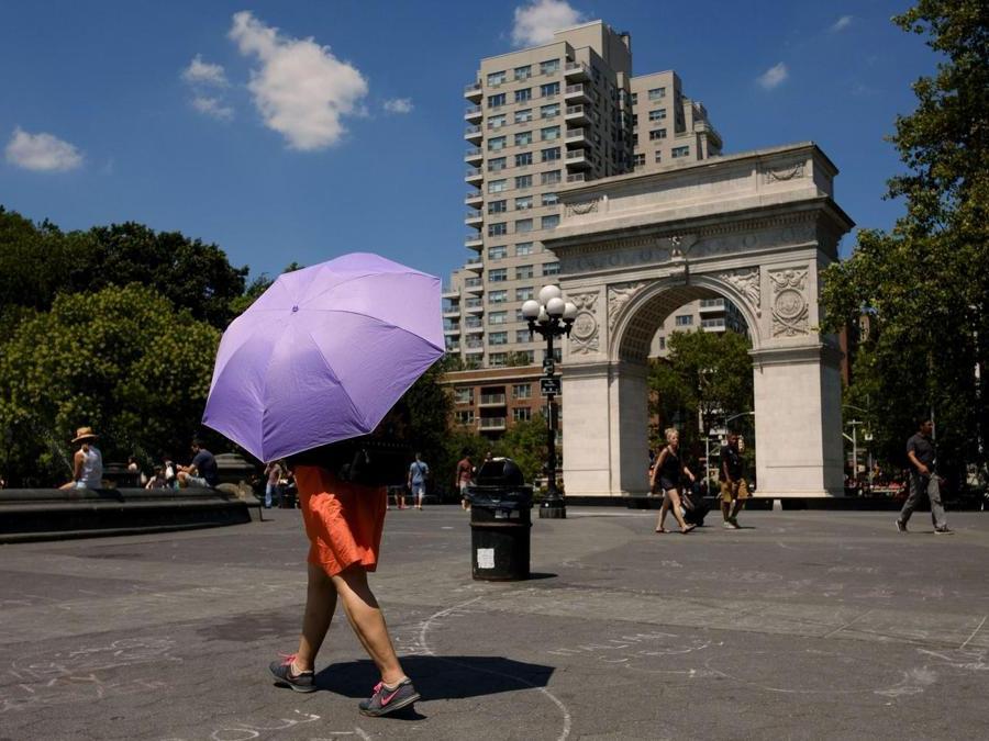 Washington Square Park (Drew Angerer/Getty Images/AFP)