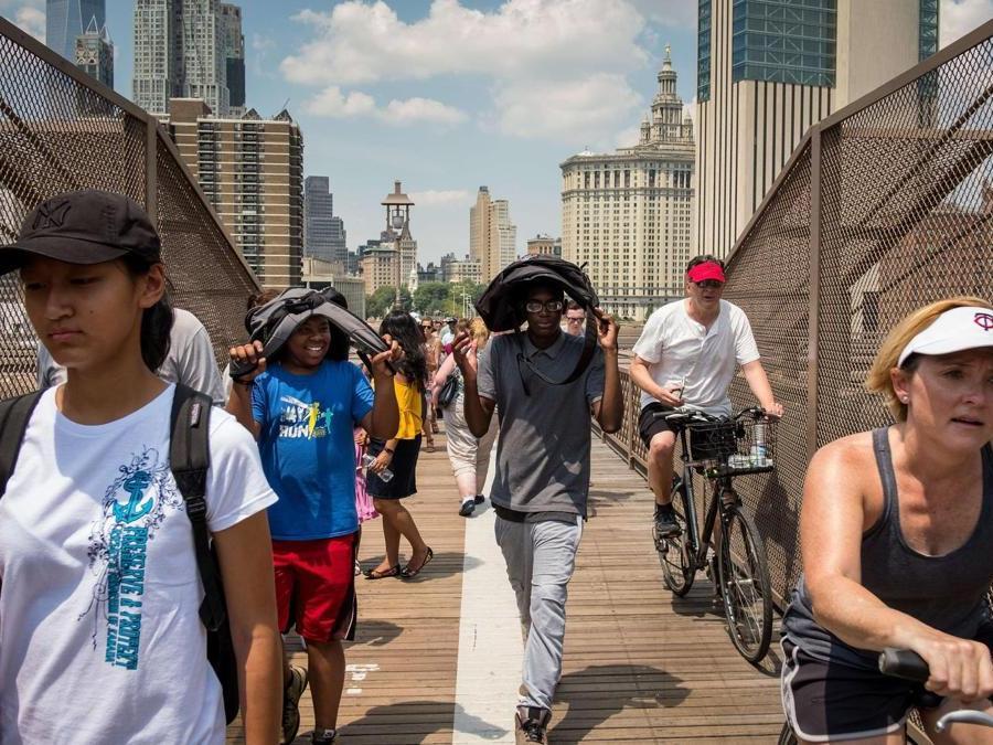 Brooklyn Bridge (Drew Angerer/Getty Images/AFP)