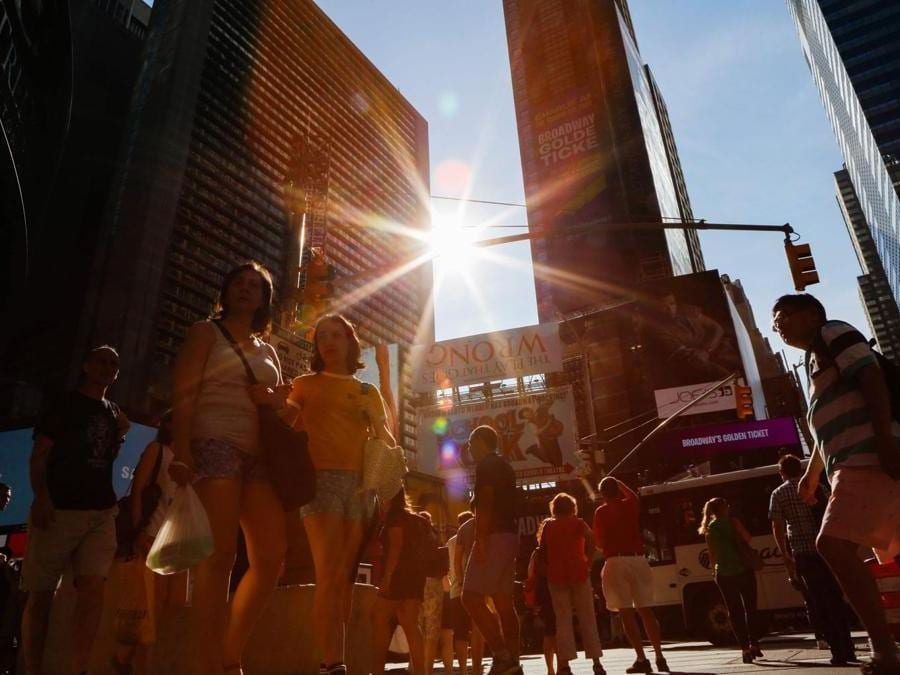 Times Square (AFP PHOTO / EDUARDO MUNOZ ALVAREZ)