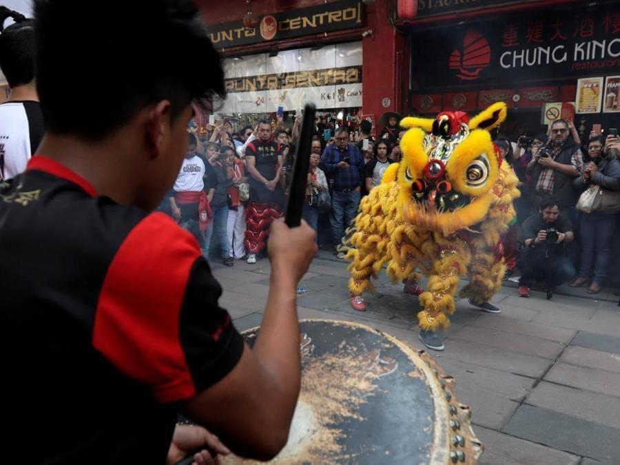 Comunità cinese a Città del Messico (REUTERS/Henry Romero)