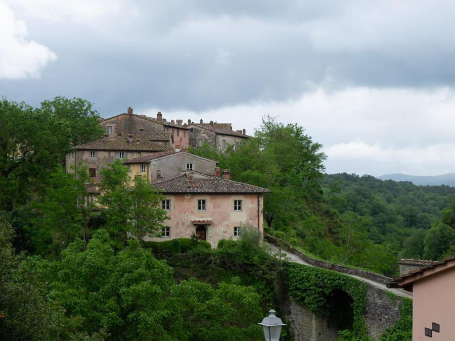 San Giustino Valdarno, Il Borro. Vista del borgo medioevale (Credit: Franco Sarcina)