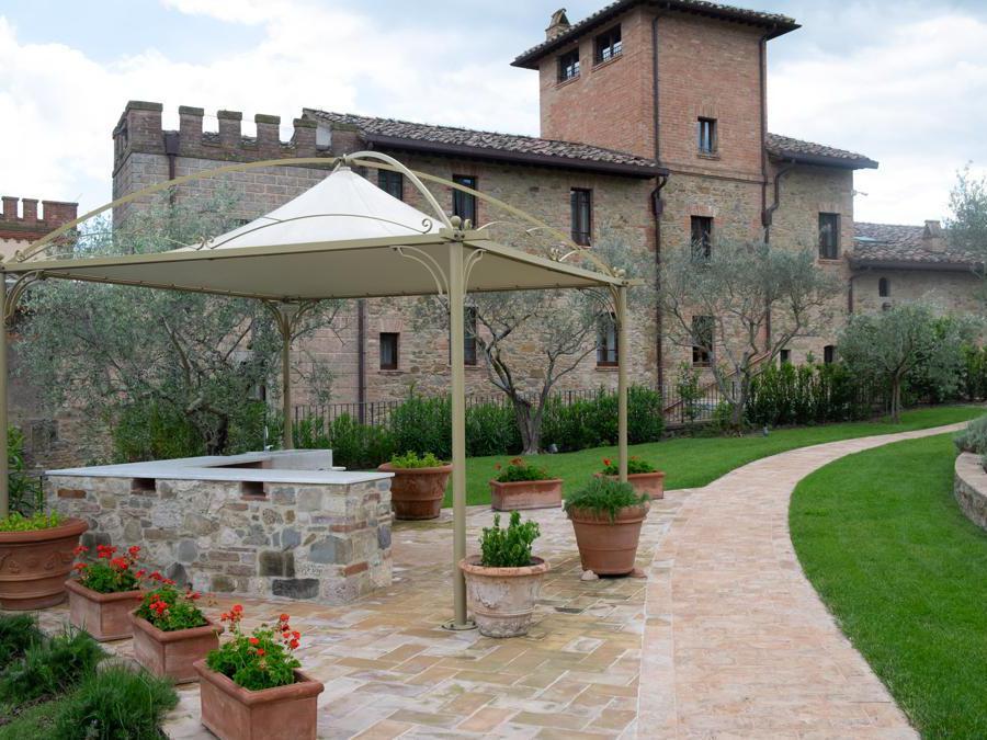 Perugia, Borgo dei Conti. Vista della fortezza (Credit: Franco Sarcina)