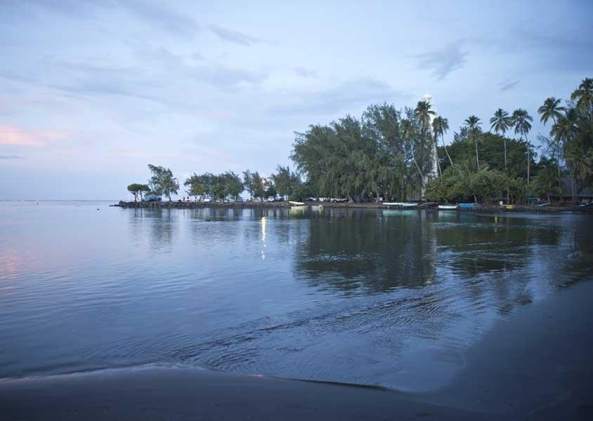 Un tipico paesaggio di Tahiti (PH Tahiti Tourisme)