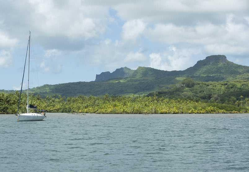 Raiatea è conosciuta come la culla degli dei e pare sia stata la prima isola polinesiana ad aver ospitato un insediamento umano (PH Tahiti Tourisme)