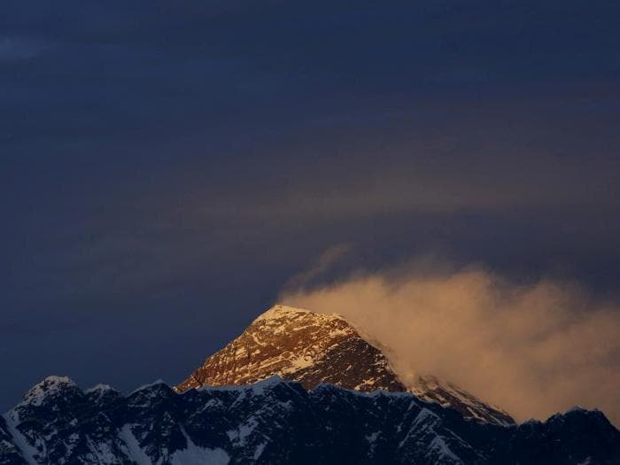 La vetta dell'Everest è la più mortale al mondo