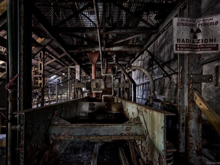 Miniera in Lombardia, chiusa per esaurilmento del materiale. (Foto Stefano Barattini)