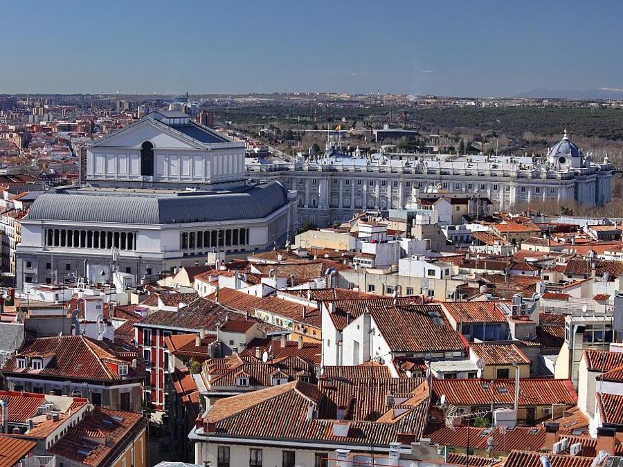 Veduta aerea della capitale spagnola (©Ente Spagnolo del Turismo-Turespaña)