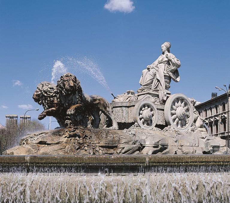 La fontana di Cibele (©Ente Spagnolo del Turismo-Turespaña)