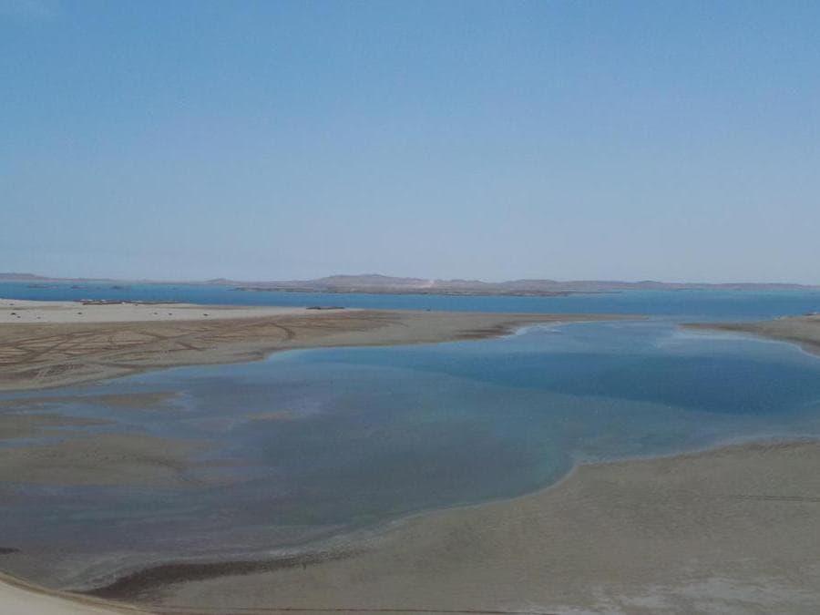 Khor Al Adaid (o Khor Al Udeid, Inland Sea)