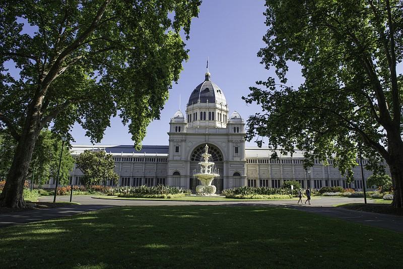 Ancora il Royal Exhibition Building è patrimomio Unesco (credit Tourism Victoria)
