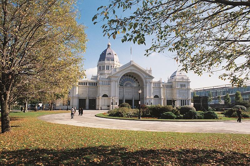 La Royal Exhibition Building nei Carlton Gardens dove il 5 aprile verrà proclamata la classifica del World's 50 Best Resturants (credit Tourism Victoria)
