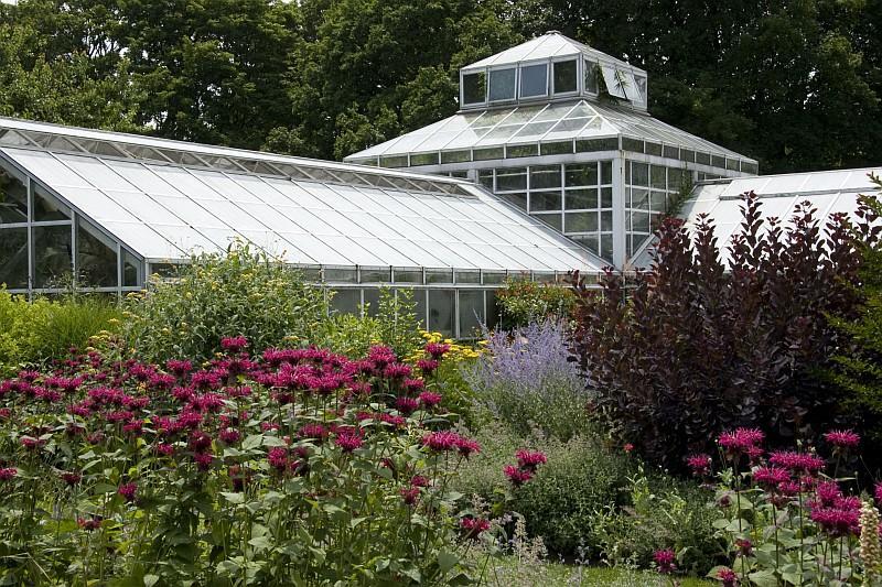 Snug Harbor Cultural Center Botanical Garden di Staten Island è un'area di origine ottocentesca che comprende una ventina di edifici storici e nove giardini (© NYC  Company/ Marley White)