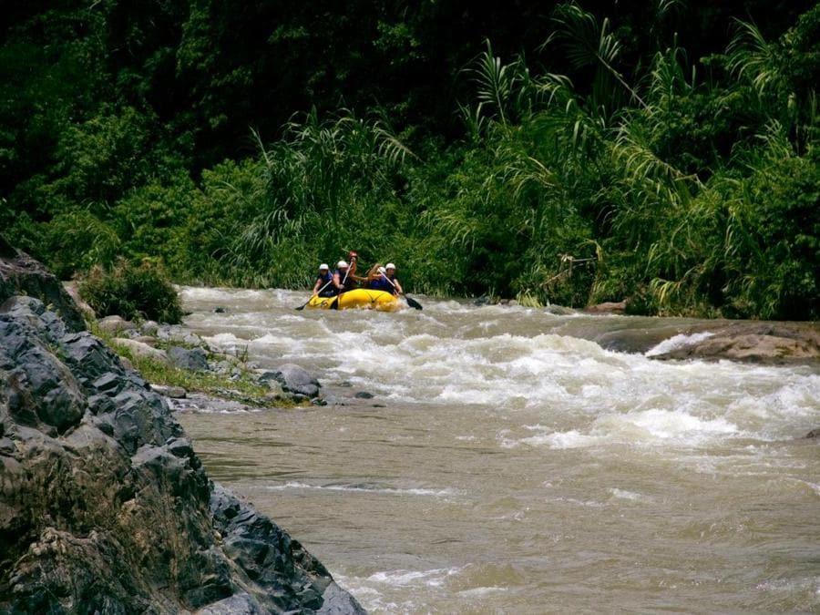 Rafting lungo lo Yague del Norte (© Ente Nazionale del Turismo della Repubblica Dominicana)
