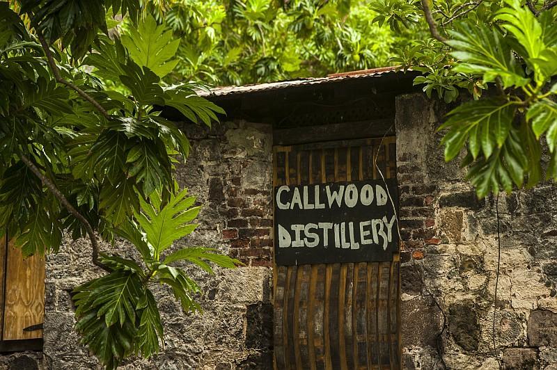 Callwood Rum Distillery, un'antica distilleria ancora attiva e oggi adibita anche a Museo del Rum. (©Lucio Rossi/bvitourism.it)