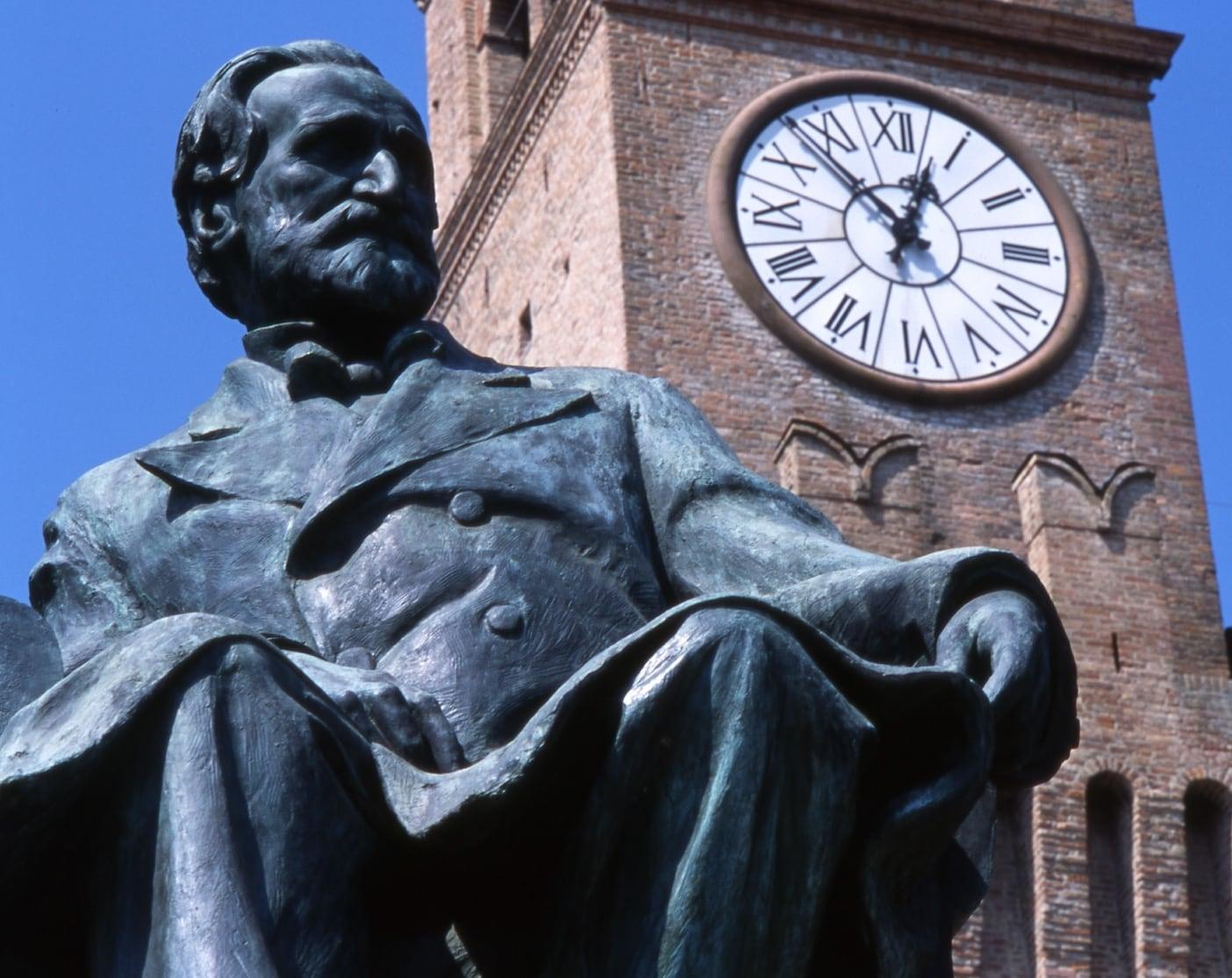 Busseto, monumento a Giuseppe Verdi (Dall'Argine)
