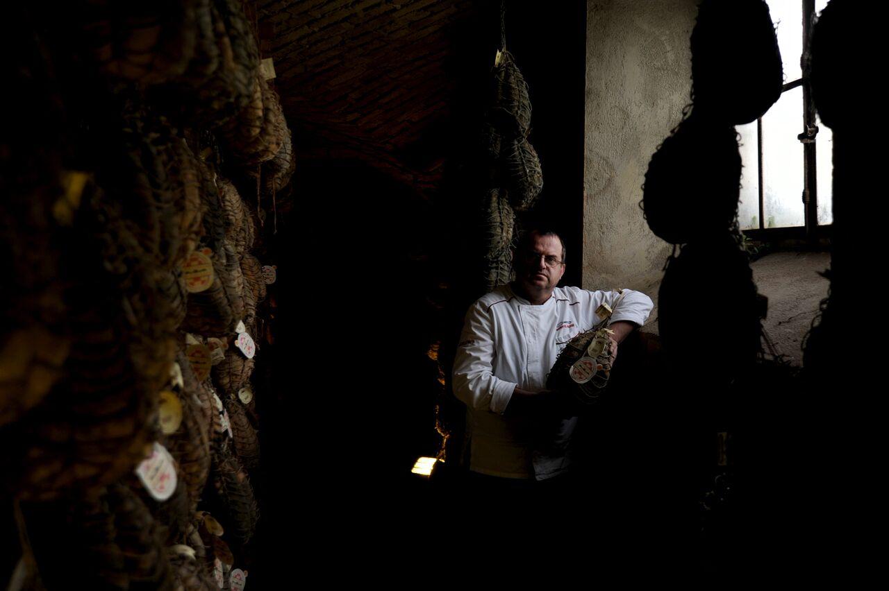 Antica Corte Pallavicina. Museo del Culatello e del Masal. Massimo Spigaroli