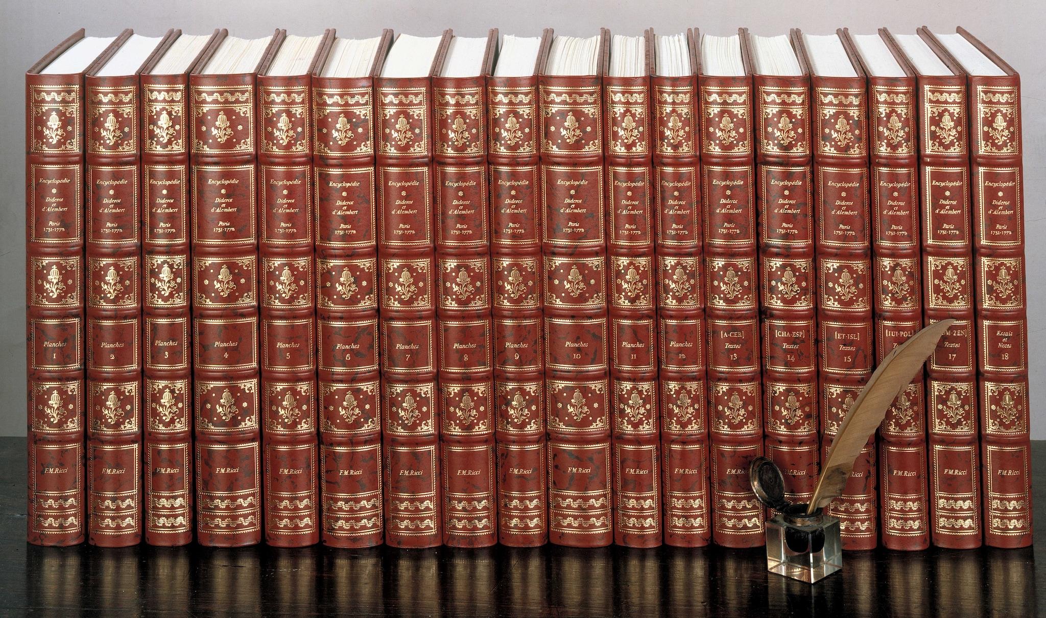 (Archivio Franco Maria Ricci). Ristampa Enciclopedia di Diderot e d'Alambert