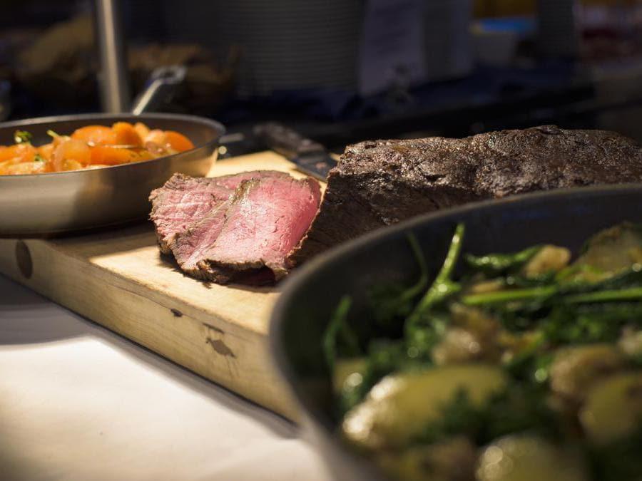 Il food a bordo (foto C.Hvisitnorway.com)