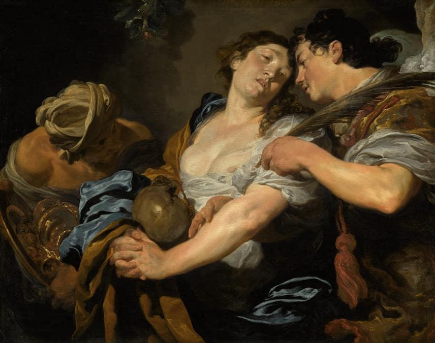 Johann Liss, The Temptation of Saint Mary Magdalene, oil on canvas, est.£4-6 million