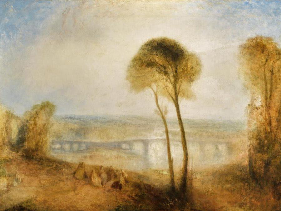 J.M.W. Turner, Landscape with Walton Bridges, oil on canvas, est. £4,000,000-6,000,000