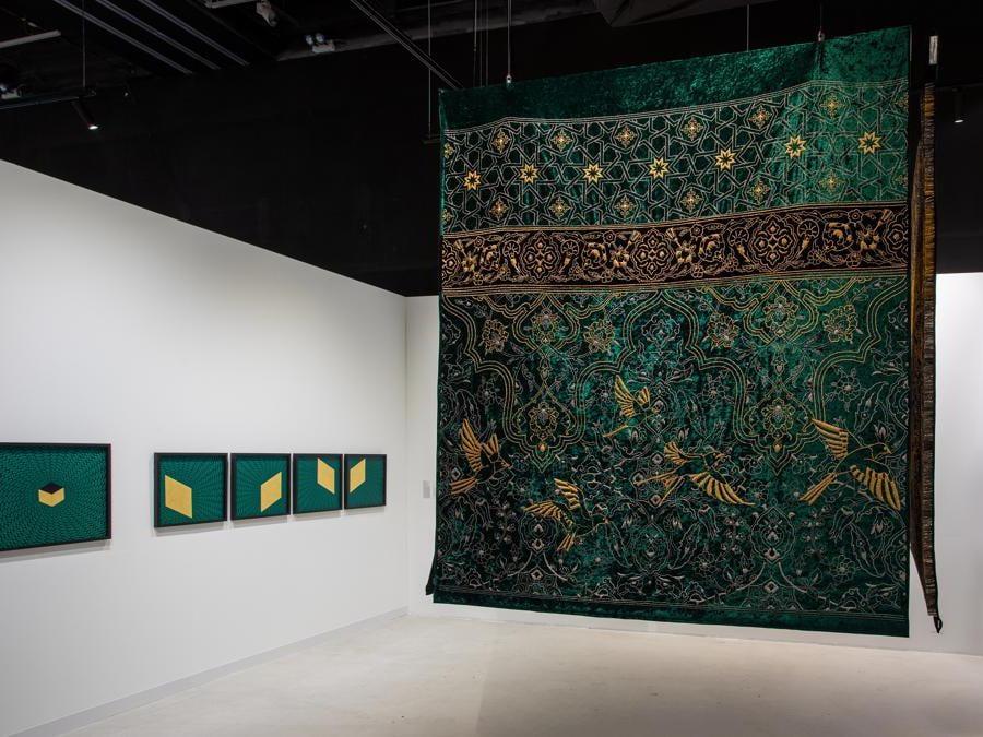 Aisha Khalid, The Garden of Love is Green Without Limit, 2019, Courtesy Al Burda