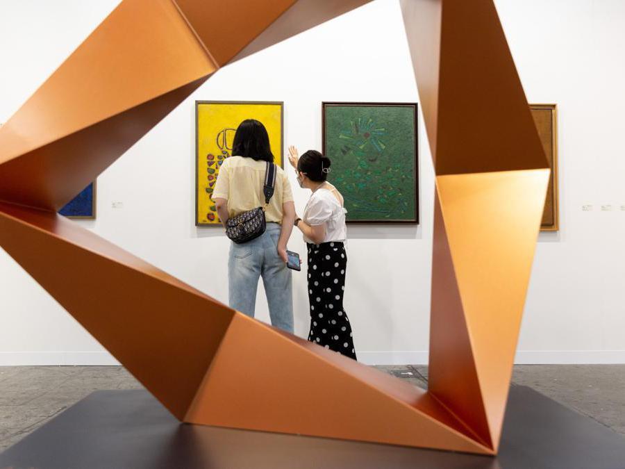 Lo stand di Asia Art Center ad Art Basel Hong Kong 2021, Courtesy Art Basel