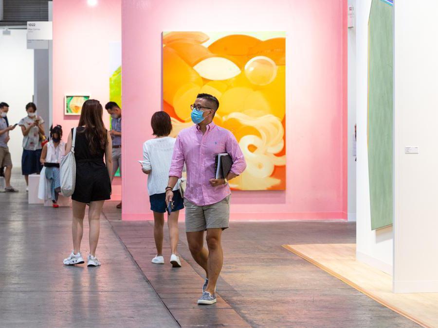 I corridoi di Art Basel Hong Kong 2021, Courtesy Art Basel