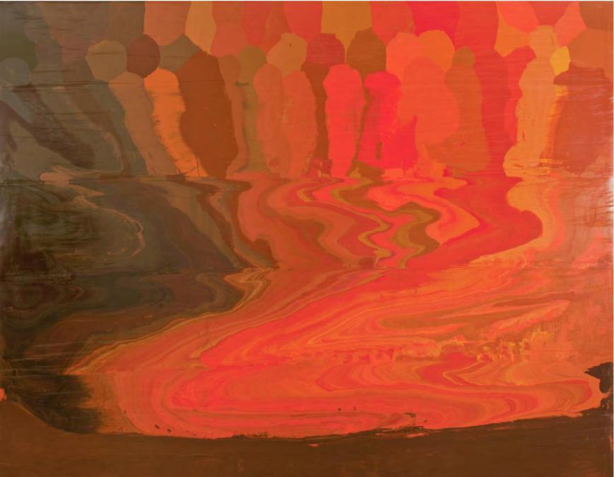 José Yaque «Magma III»  2019   . Gentile concessione dell'artitsta e della galleria Continua di San Gimignano