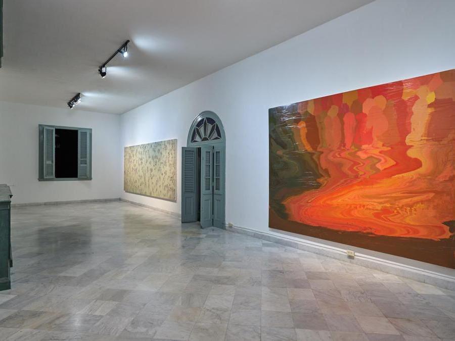 José Yaque «Magma III»  2019   . Per gentile concessione dell'artitsta e della galleria Continua di San Gimignano