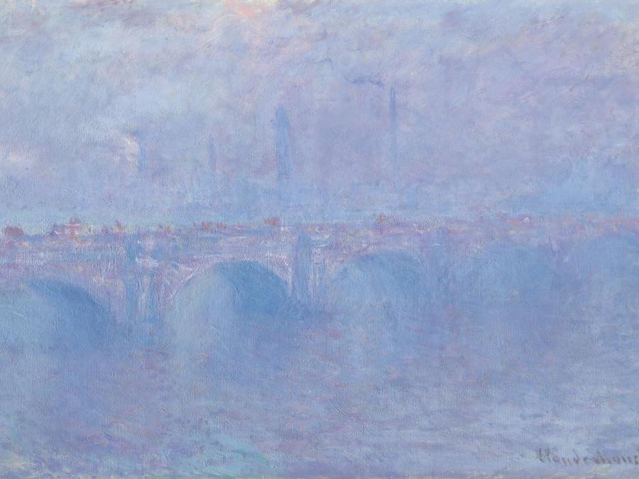 Monet, «Waterloo Bridge» effetto nebbia