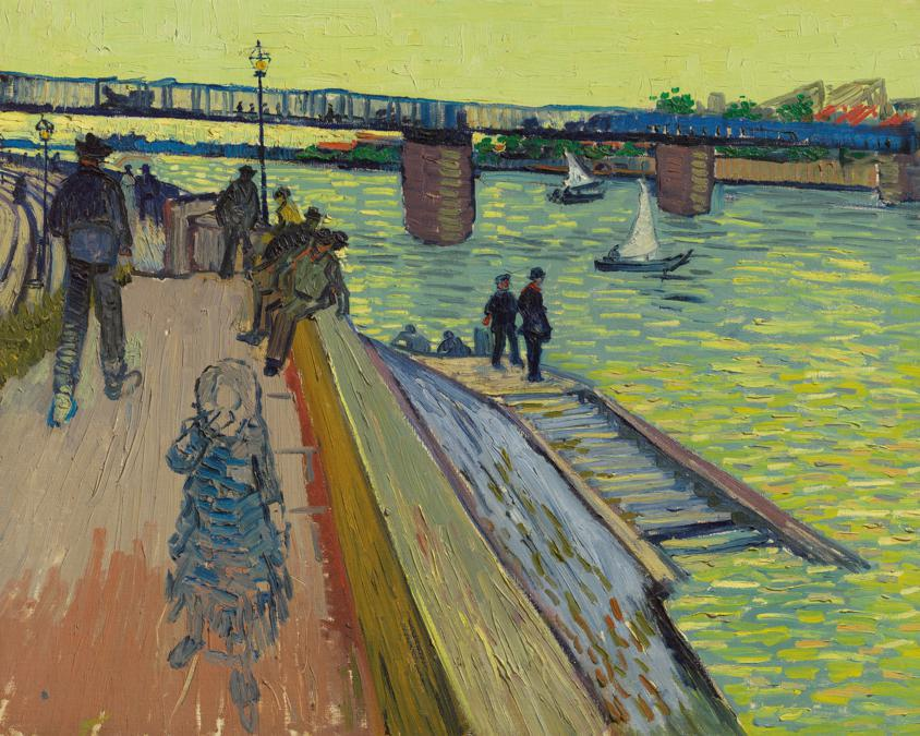 Van Gogh, «Le pont de Trinquetaille»