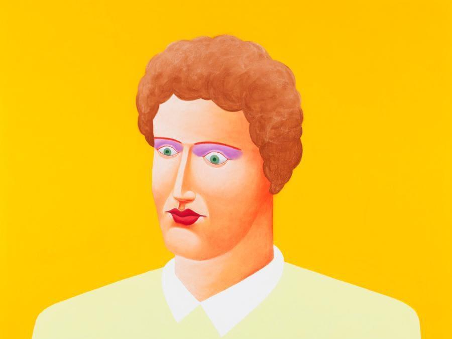 Nicolas Party «Portrait» 2015. Gherardo Felloni (Foto: Andrea Rossetti)