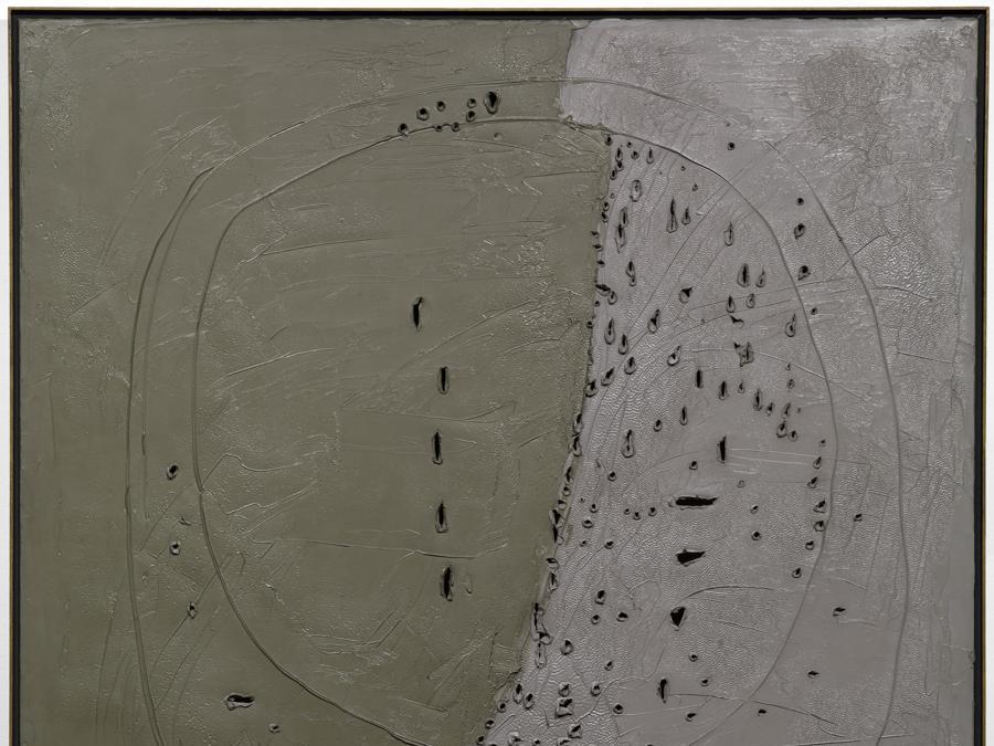Lucio Fontana «Concetto spaziale» 1960