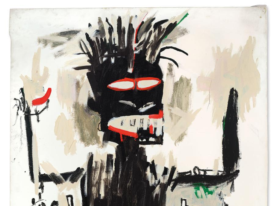 Jean-Michel Basquiat - Self-Portrait