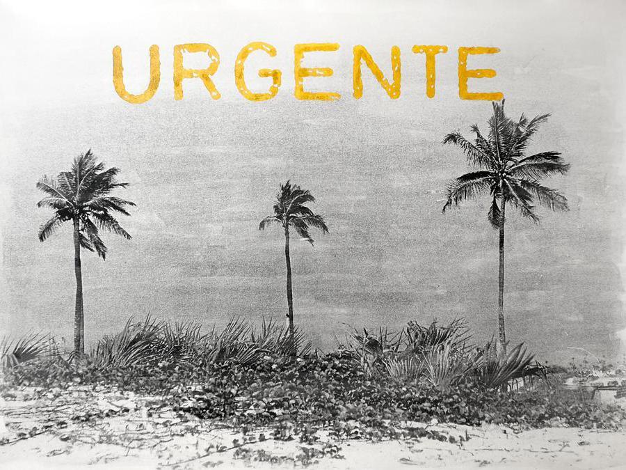 Delio Jasse, Sem Valor – Urgente (2019), tecnica mista su fotografia, Courtesy of the artist and Tiwani Contemporary