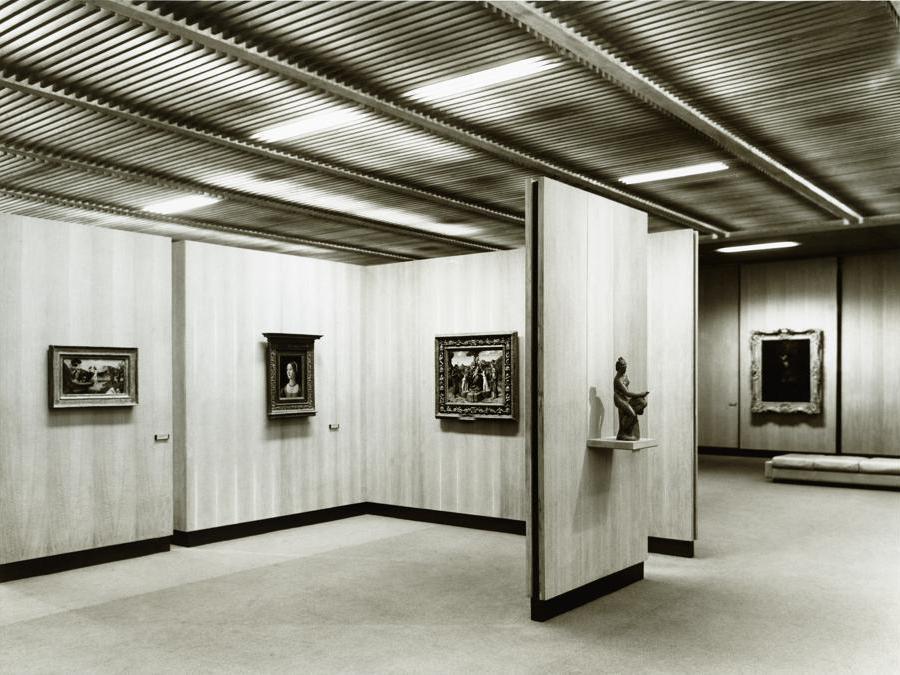 Museu Calouste Gulbenkian. Galleria dei Dipinti e delle Sculture del XV-XVI-XVII secolo, 1970 (foto Mário de Oliveira)