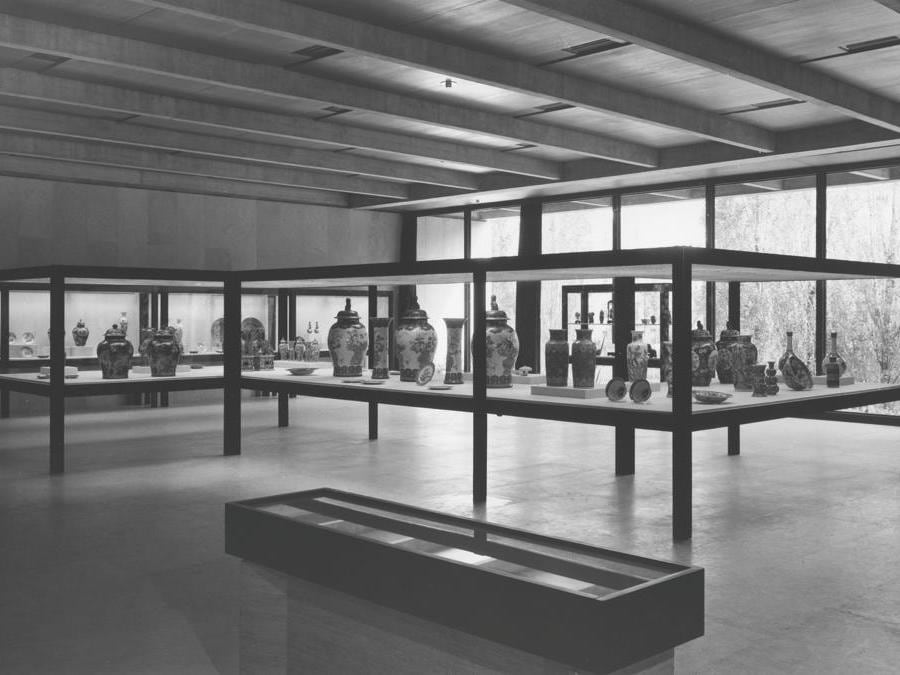 Museu Calouste Gulbenkian. Galleria d'Arte dell'Estremo Oriente, 1970 (foto Mário de Oliveira)