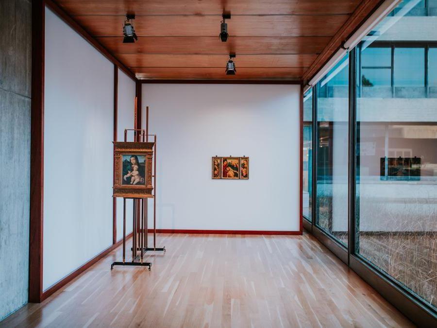 Carlo Scarpa, Museo Correr, Venezia, 1957-60.  Ricostruzione realizzata per Art on Display. 1949-69, presso il Calouste Gulbenkian Museum, Lisbona (Pedro Pina)