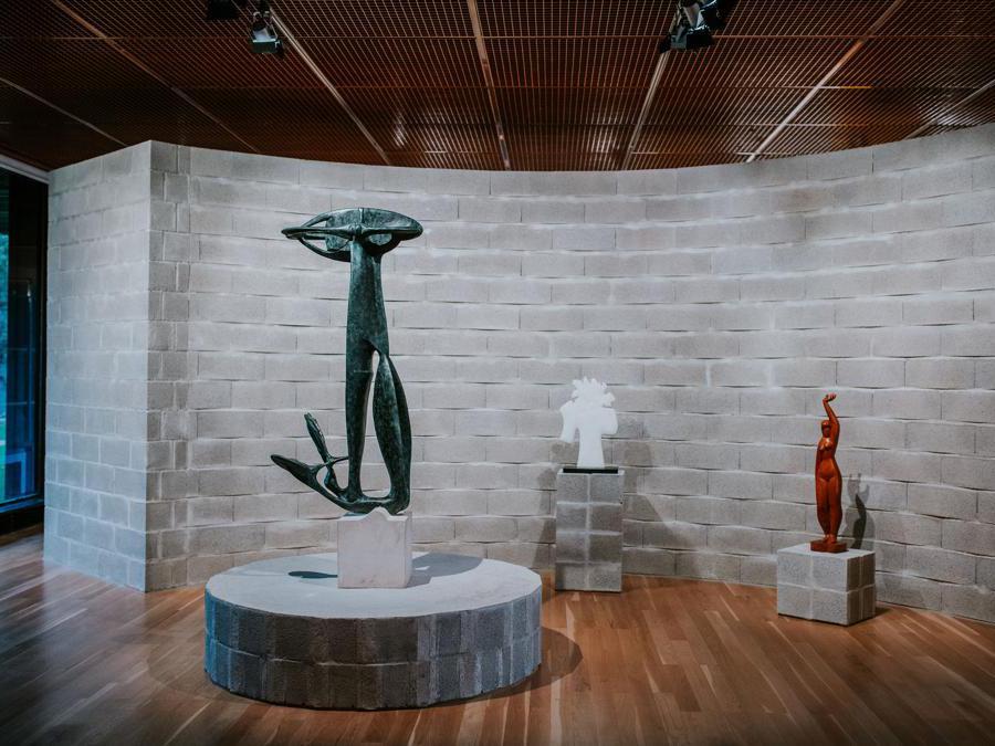 Aldo van Eyck, Sonbeek '66, 5th International Sculpture Exhibitio, Arnhem, 1965. Ricostruzione realizzata per Art on Display. 1949-69, presso il Calouste Gulbenkian Museum, Lisbona (Pedro Pina)